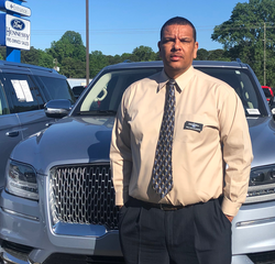 Sales and Leasing Professional Walter Sanders in Pre-Owned Sales at Hennessy Ford Lincoln Atlanta