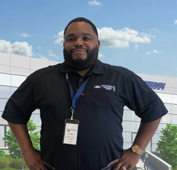 Assistant Service Manager CB Bailey in Service at Hennessy Ford Lincoln Atlanta