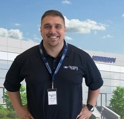 Service Manager Jonathan Jordan in Service at Hennessy Ford Lincoln Atlanta