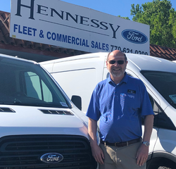 Fleet & Commercial Sales Manager Kevin Swindall in Management at Hennessy Ford Lincoln Atlanta