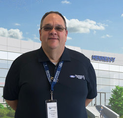 Assistant Service Manager Jeff Burns in Service at Hennessy Ford Lincoln Atlanta