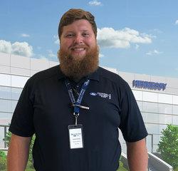 Service Advisor Corey Herrity in Service at Hennessy Ford Lincoln Atlanta