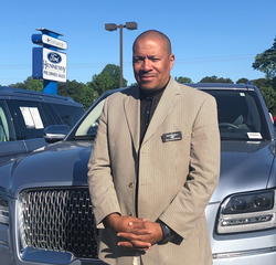 Sales & Leasing Professional Joe Harrington in Pre-Owned Sales at Hennessy Ford Lincoln Atlanta