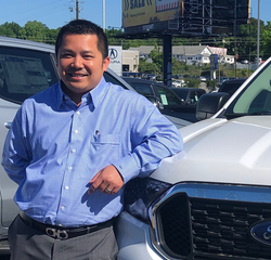 General Sales Manager Tim Huynh in Management at Hennessy Ford Lincoln Atlanta