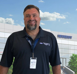 Service Advisor Chad Sanders in Service at Hennessy Ford Lincoln Atlanta