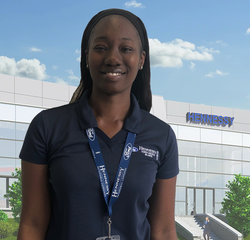 Parts Counter Vermissa Daniels in Parts at Hennessy Ford Lincoln Atlanta