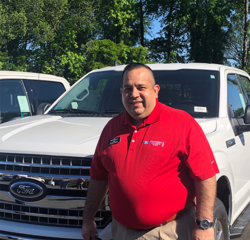 Commercial Sales Consultant Alvaro Pineros in New Car Sales at Hennessy Ford Lincoln Atlanta