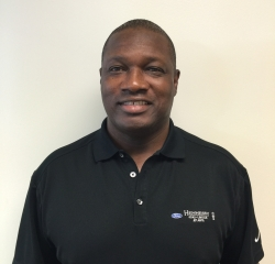 Sales Professional Anthony Pierce in Pre-Owned Sales at Hennessy Ford Lincoln Atlanta