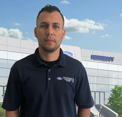 Wholesale Parts Counter Eduardo Benavides in Wholesale Parts at Hennessy Ford Lincoln Atlanta