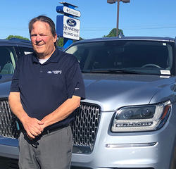 Sales and Leasing Professional Bill Plachter in Pre-Owned Sales at Hennessy Ford Lincoln Atlanta