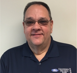 Internal Service Advisor Jeff Burns in Administration at Hennessy Ford Lincoln Atlanta