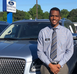 Sales & Leasing Professional Jamal Green in Pre-Owned Sales at Hennessy Ford Lincoln Atlanta