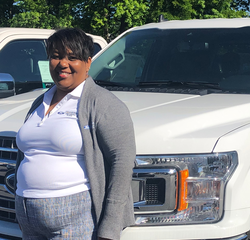 Sales & Leasing Professional Crista McMullen in New Car Sales at Hennessy Ford Lincoln Atlanta