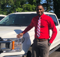 Sales and Leasing Professional Jonathan Chambers in New Car Sales at Hennessy Ford Lincoln Atlanta