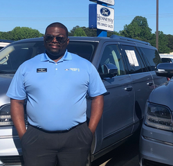 Pre-Owned Sales Manager Hussein Ahmadu in Management at Hennessy Ford Lincoln Atlanta