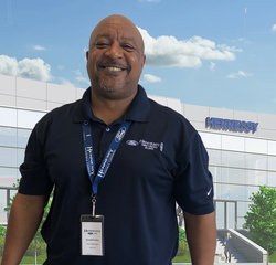 Parts Manager Donald Foster in Parts at Hennessy Ford Lincoln Atlanta