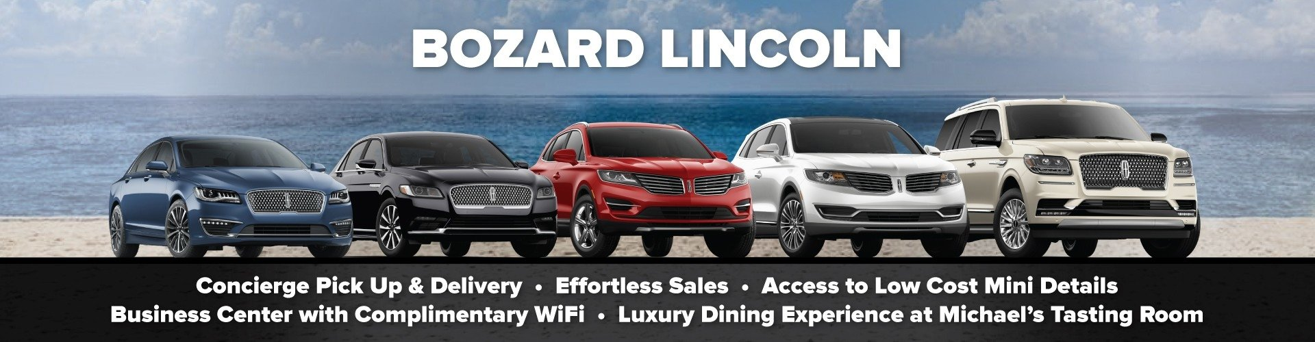 Experience Lincoln at Bozard Lincoln of St Augustine