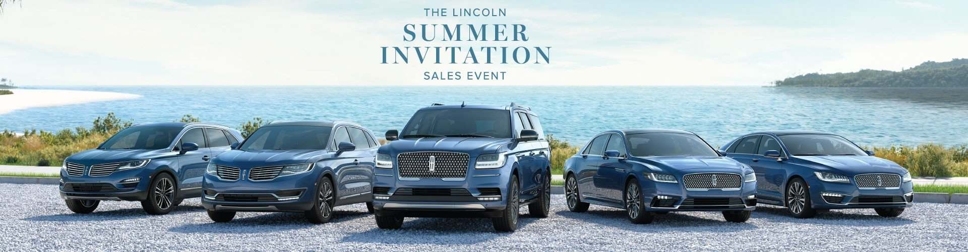 2018 LIncoln Summer Invitation Sales Event