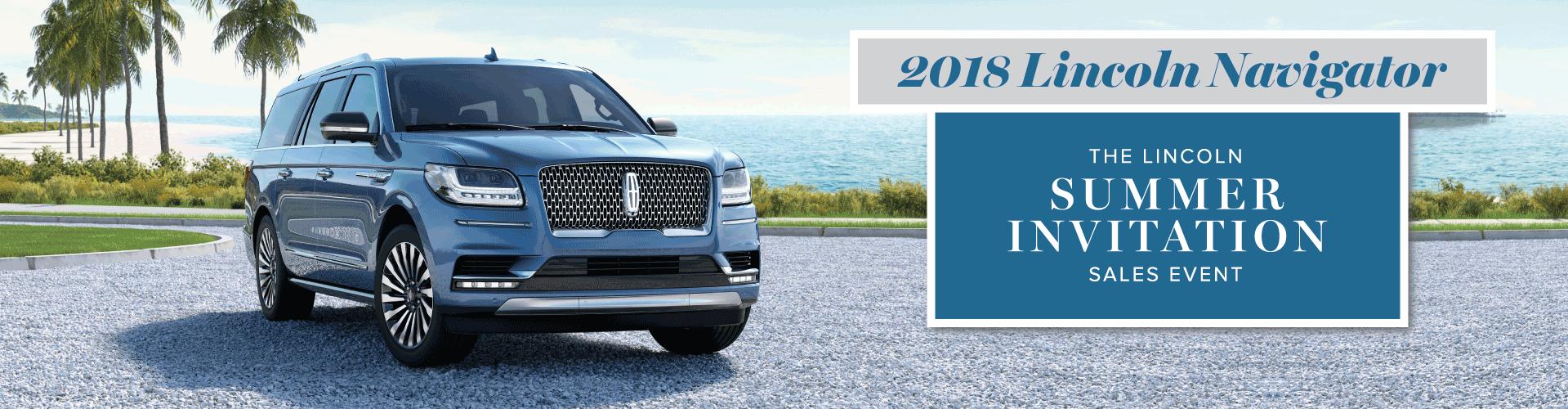 Lincoln Navigator 2018 Summer Invitation