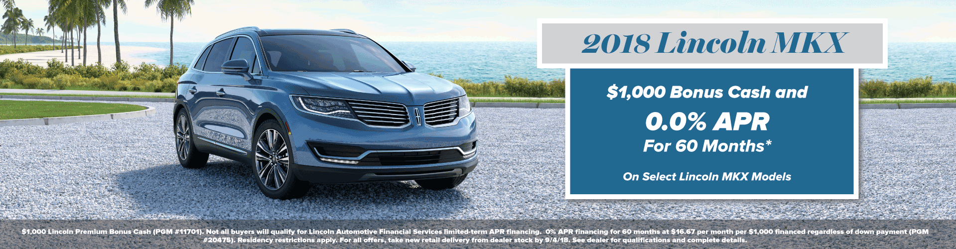 2018 Lincoln MKX Offer