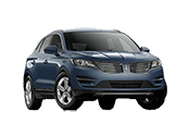 black Lincoln MKC 4 door sedan for sale