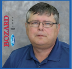 Inventory Manager Harold Shaffer in Commercial at Bozard Lincoln