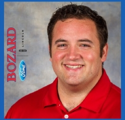 General Sales Manager Jesse Scheff in Sales at Bozard Lincoln