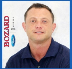 Sales Manager Lee Brewer in Sales at Bozard Lincoln