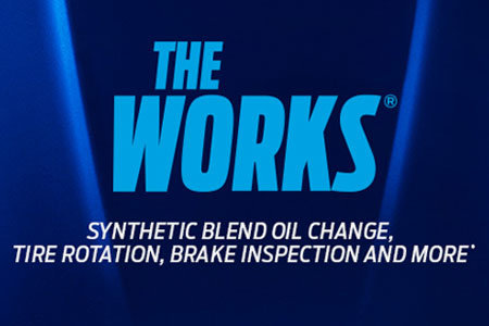 Coupon for The Works Package $39.95
