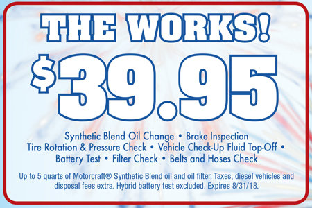 Coupon for The Works! $39.95