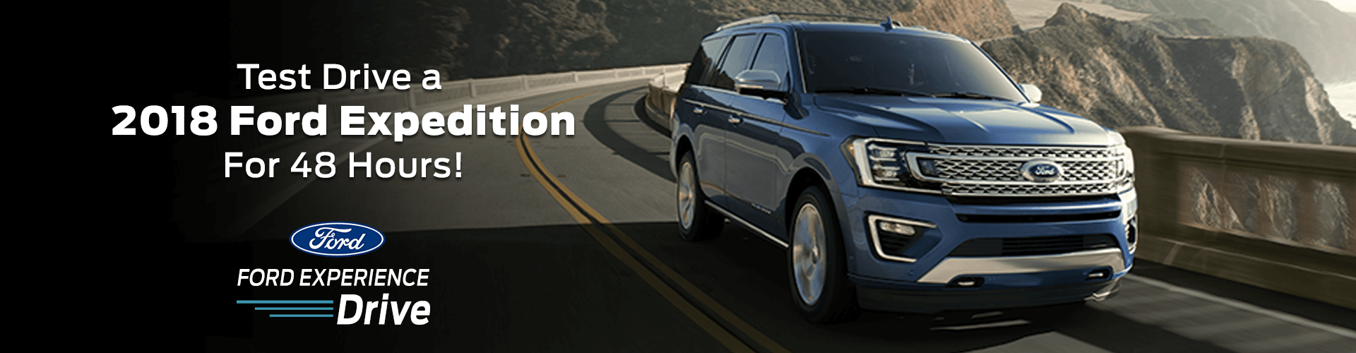 Test Drive a 2018 Ford Expedition