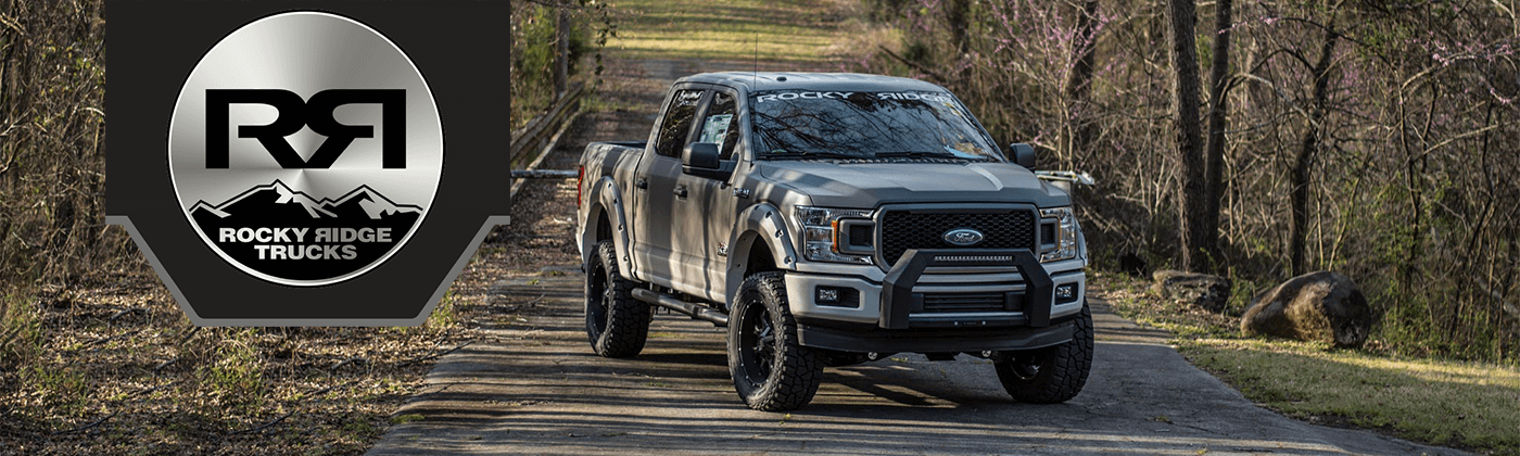 silver rocky ridge ford f-150 k2 edition