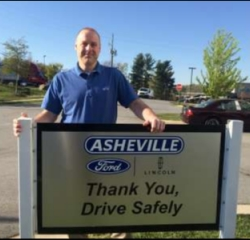 Parts Professional Aaron Samuels in Service/Parts at Asheville Ford