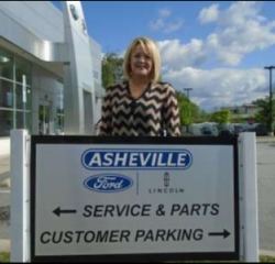 BDC Manager Alicia Carter in Managers at Asheville Ford