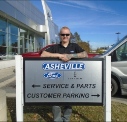 Parts Professional Ben Wright in Service/Parts at Asheville Ford