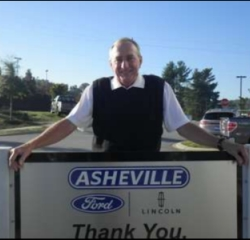 Sales Associate Bill Jenkins in Sales at Asheville Ford
