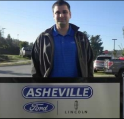 Finance Manager Brian Newman in Managers at Asheville Ford