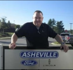 Sales Associate Chris Mease in Sales at Asheville Ford