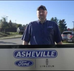Parts Delivery David Ducker in Service/Parts at Asheville Ford