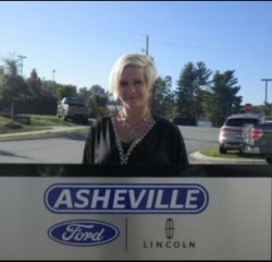 Office Manager Gina Townsend in Managers at Asheville Ford