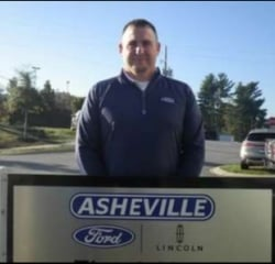 Pre-Owned Sales Manager Greg Melikian in Managers at Asheville Ford