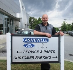 Service Manager Jack Thill in Managers at Asheville Ford