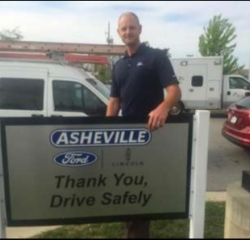 Sales Associate Jacob Reynolds in Sales at Asheville Ford