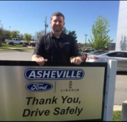 Quick Lane Manager Jonanthan Lexow in Managers at Asheville Ford