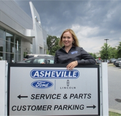 Internet Sales Kelly White in Internet Sales at Asheville Ford