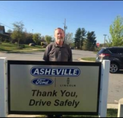 Sales Associate Mark McKinney in Sales at Asheville Ford