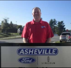 Parts Professional Ricky Harwood in Service/Parts at Asheville Ford