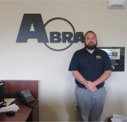 Customer Service Representative Ryan Davidson in ABRA at Asheville Ford