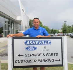 New Car Inventory Specialist Scott Mashburn in Sales at Asheville Ford