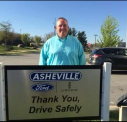 Sales Associate Shawn Fitzpatrick in Sales at Asheville Ford